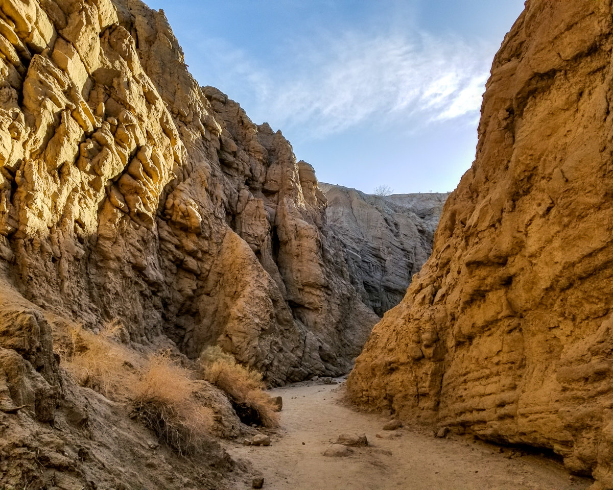 The Slot in Anza-Borrego Desert State Park