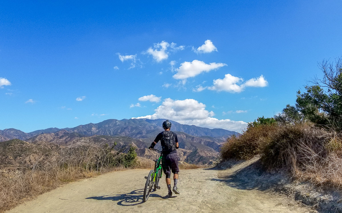 Mountain biking in Whiting Ranch Wilderness Park