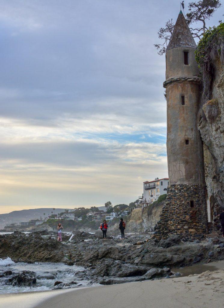 Pirate Tower on Victoria Beach