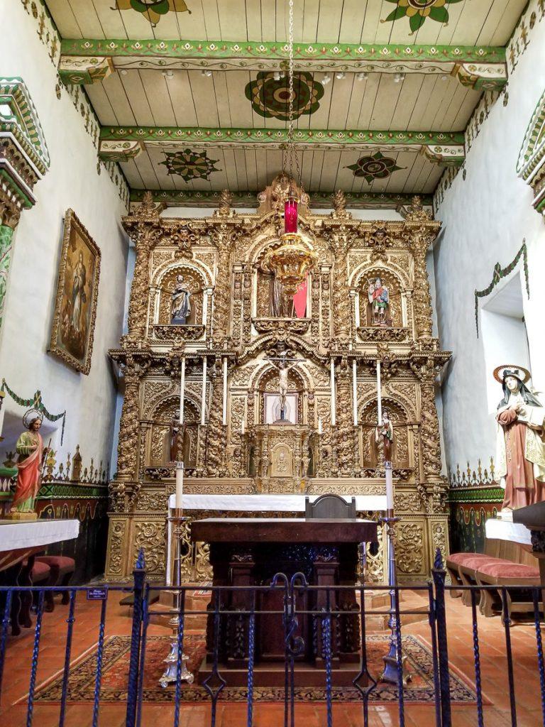 Inside the Serra Chapel