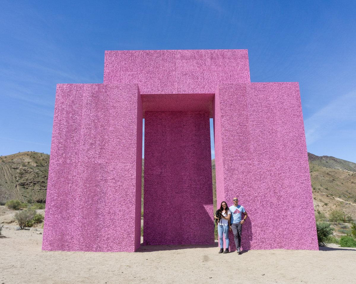 DesertX exhibit in Palm Springs