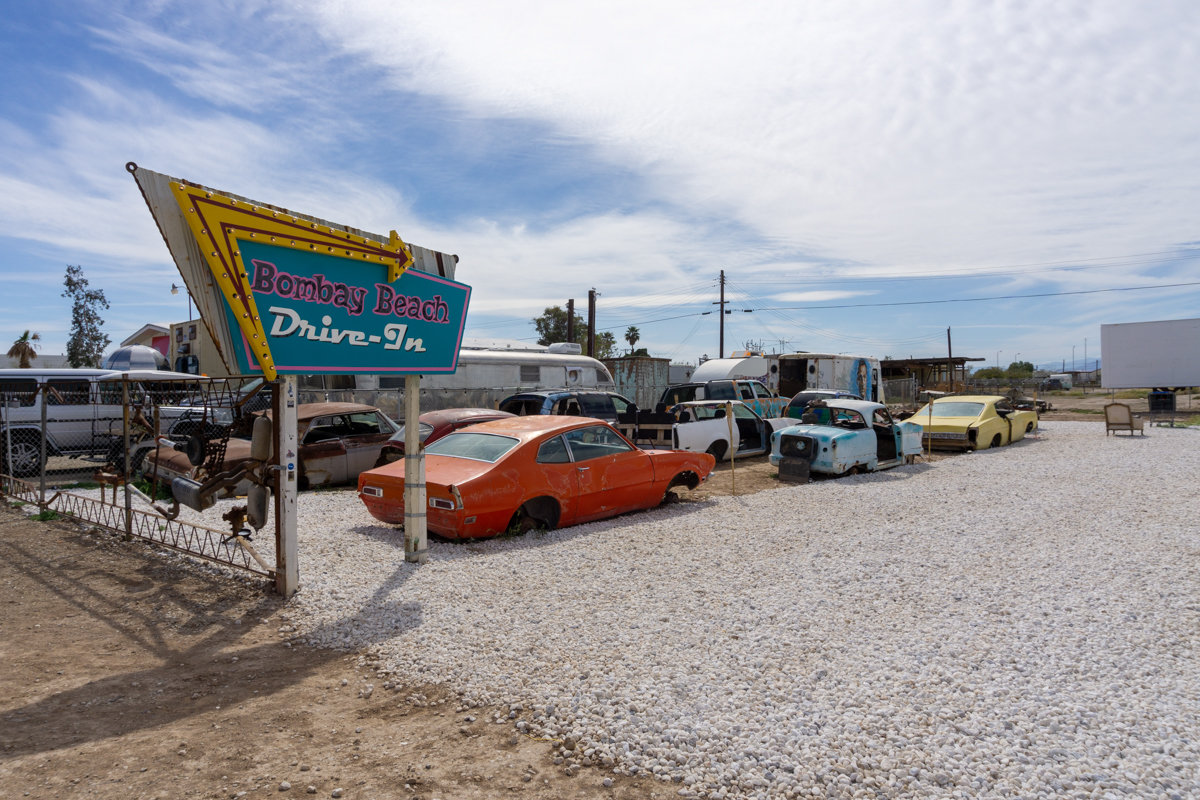 Bombay Beach Drive-In Theater