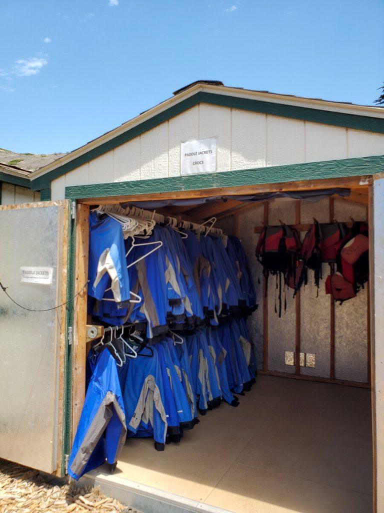 Channel Islands Kayak Tours gear