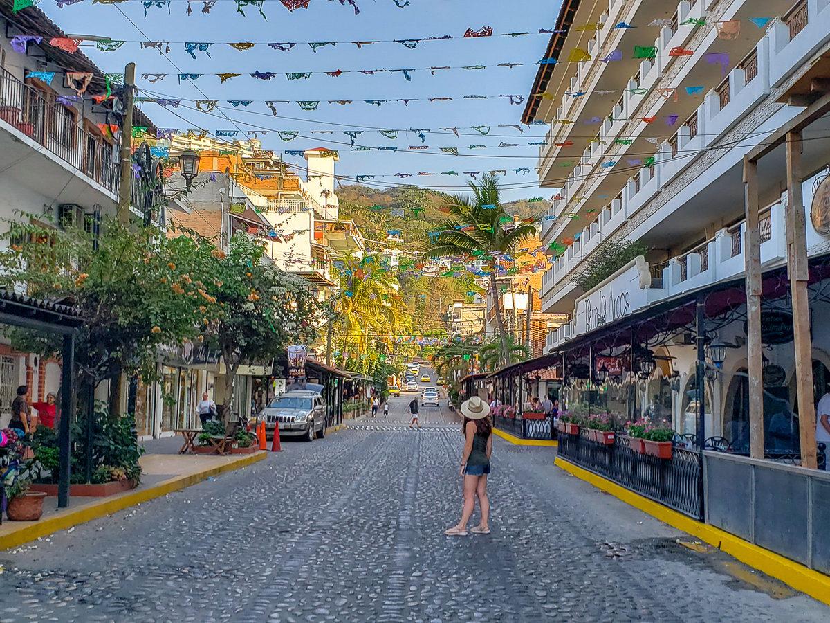 Olas Altas neighborhood in Puerto Vallarta, Mexico