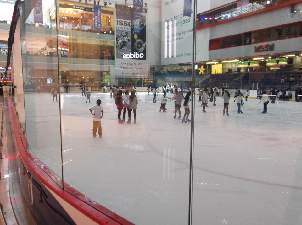 Ice Rank Dubai Mall