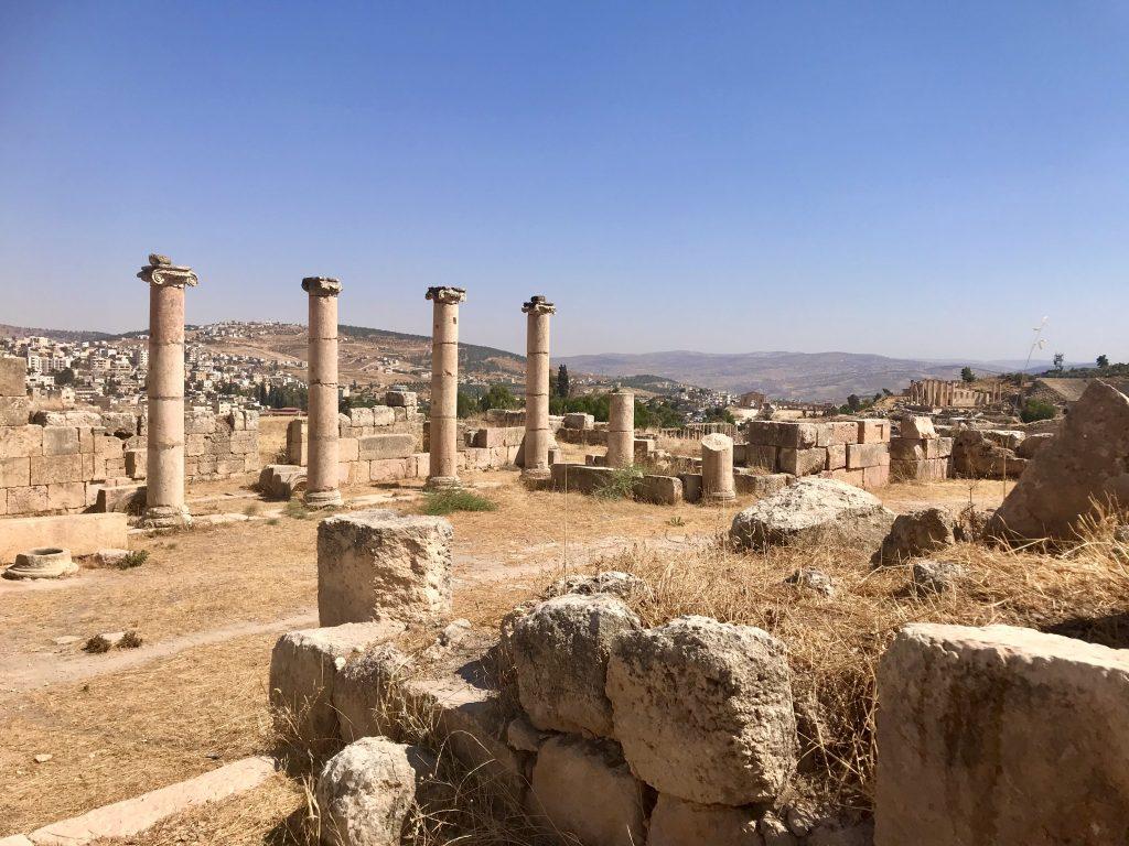 Ruines in Jerash, Jordan