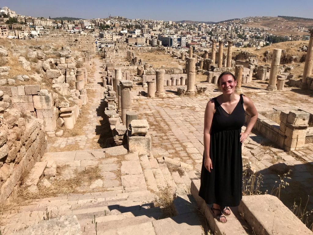 Wandering around Jerash, Jordan
