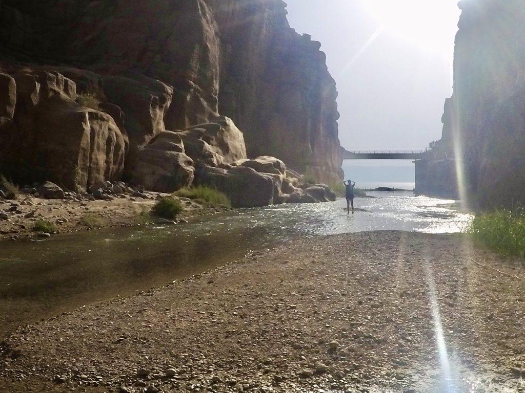 Canyoning at the Siq Trail of Wadi Mujib