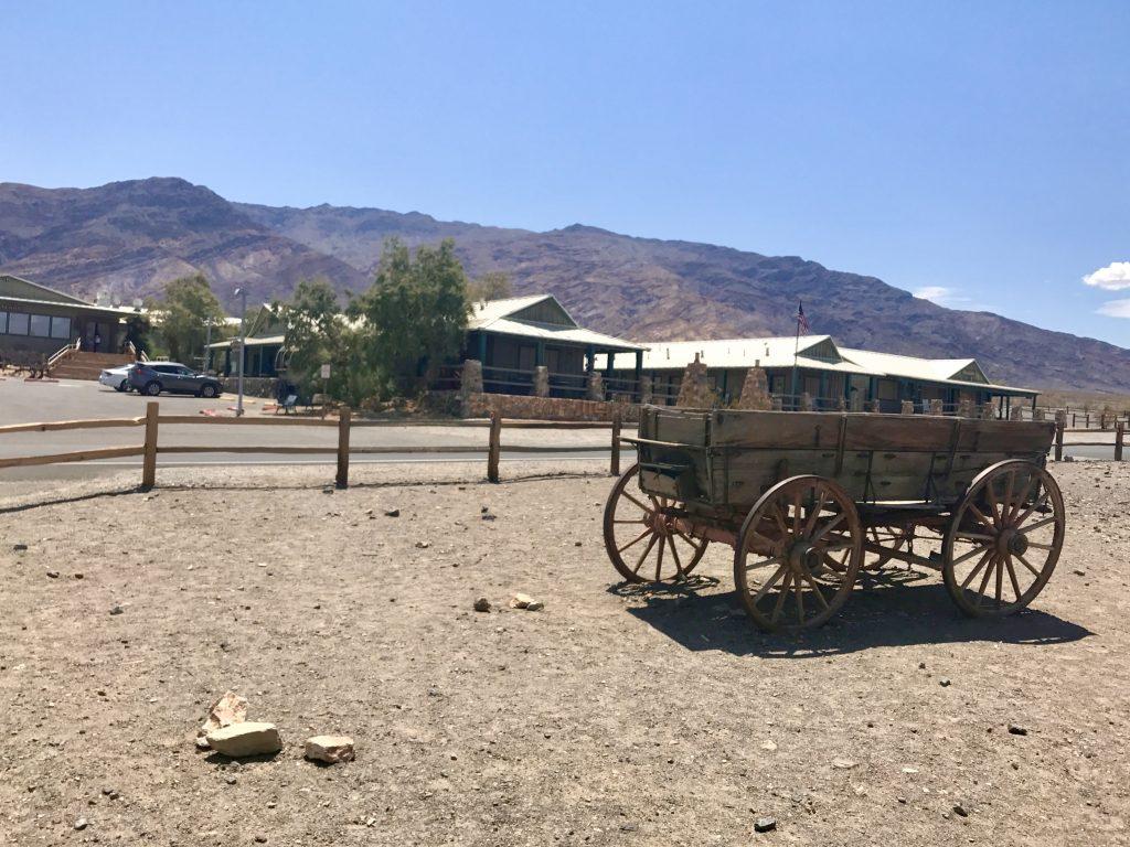 Tanken in Death Valley
