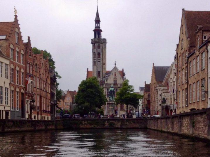 Brugge vanaf het water