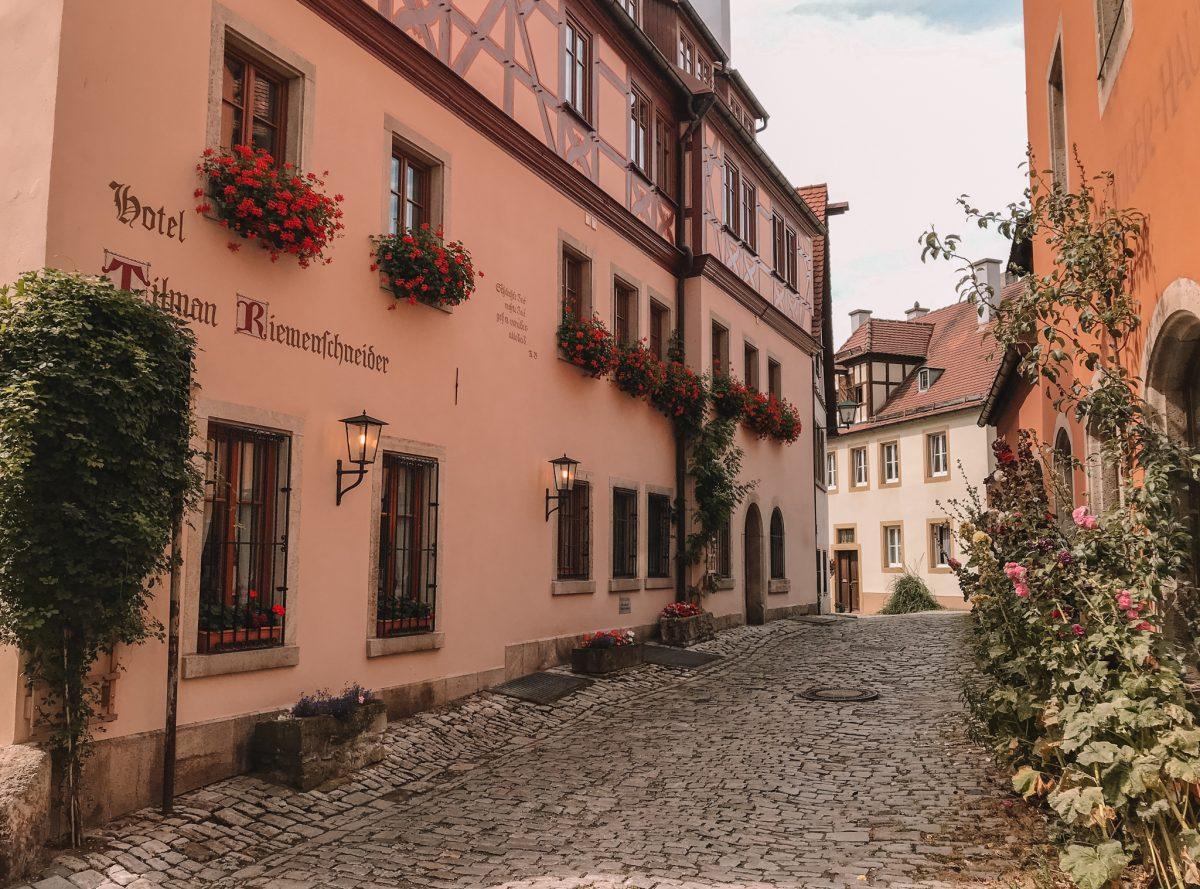 Rothenburg ob der Tauber, Duitsland 2020