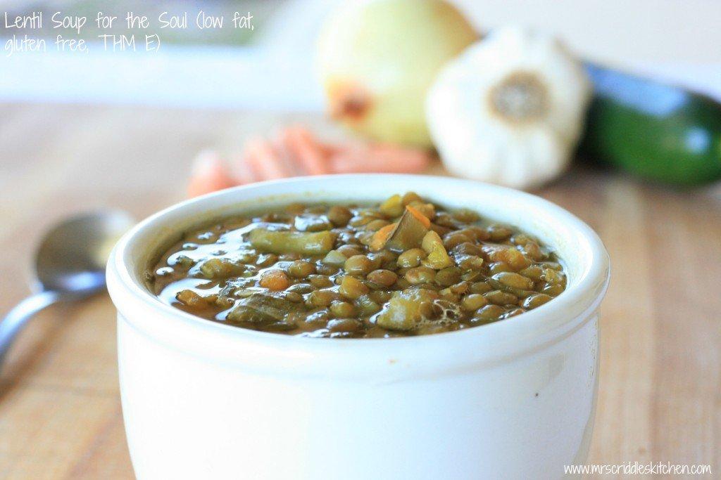 Mrs. Criddles Lentil Soup