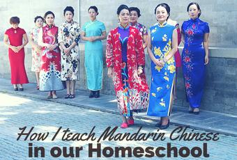 How to enjoy teaching Mandarin Chinese as a fun homeschool subject