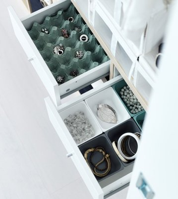 eggcarton drawers reuse home storage scandinavian