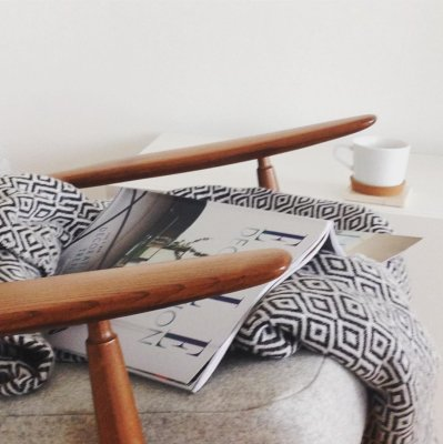 scandinavian feeling cozy home hygge reading