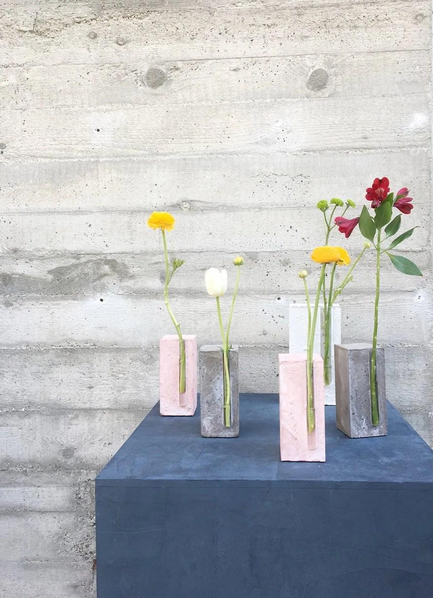 amanda lilholt danish interior design mdw concrete vases