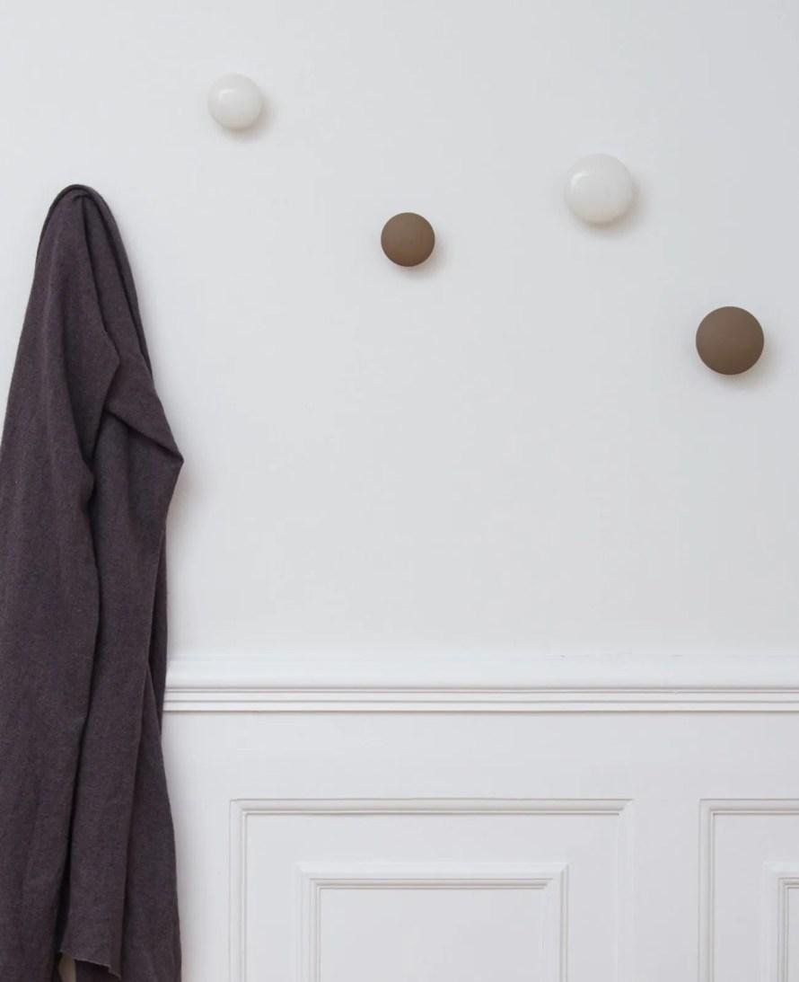 hooks anne black scandinavian design wall