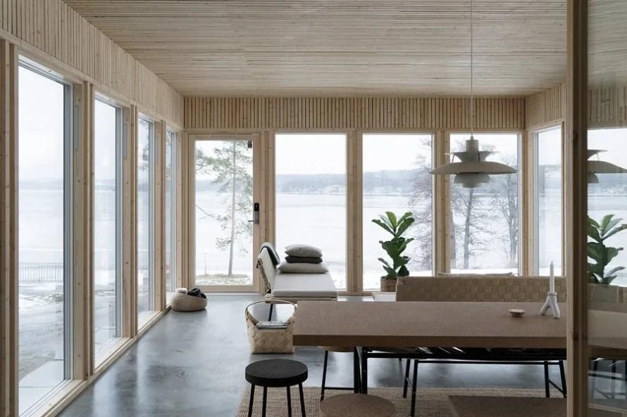 dark moody house swedish livingroom