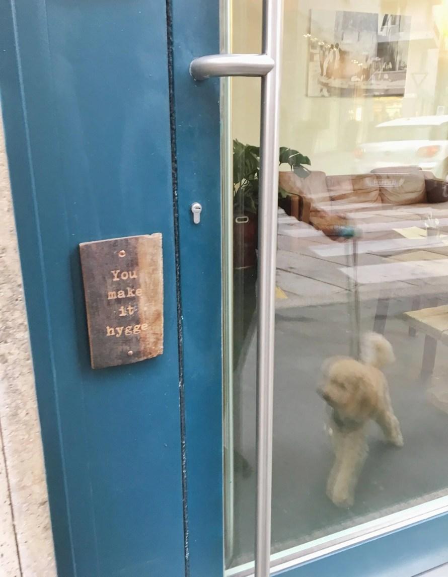 hygge milano cafe cozy scandinavian door