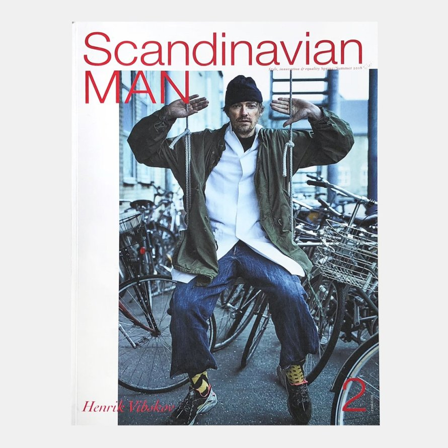 man scandinavian design magazine