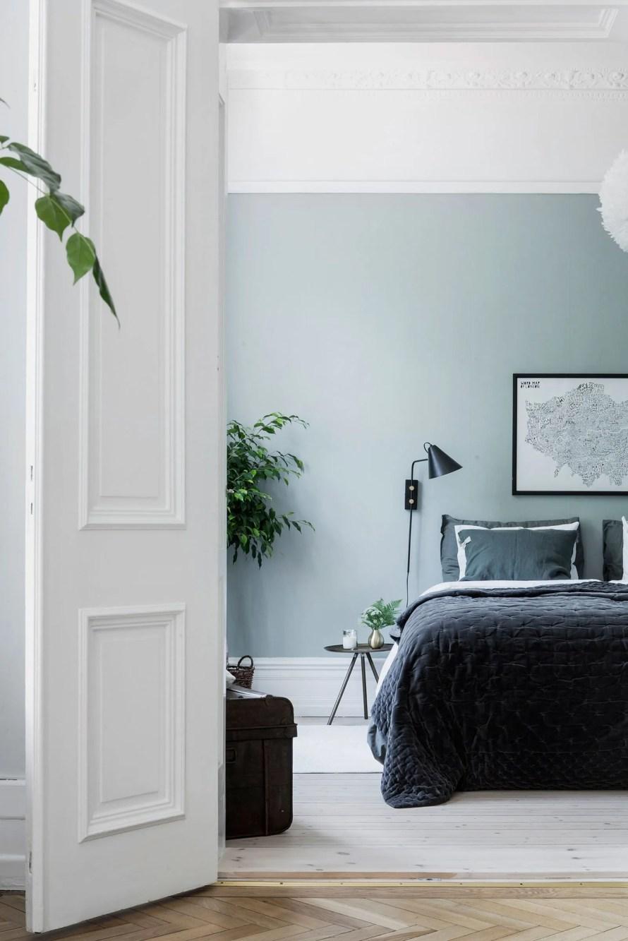 cozy bedroom green alvheim