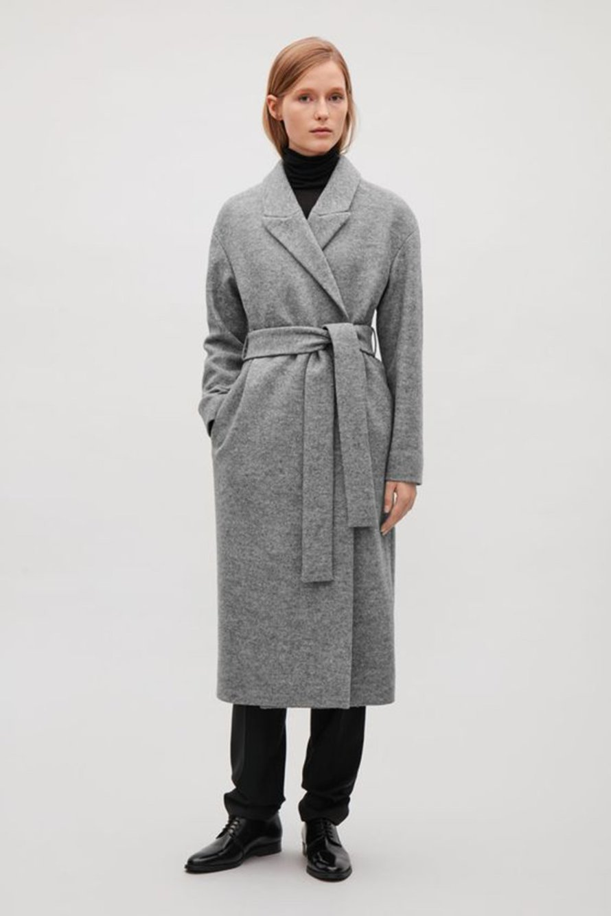 scandinavian classic coat autumn winter