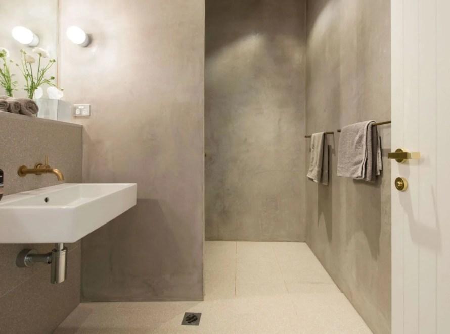 scandinavian apartment sydney airbnb bathroom shower