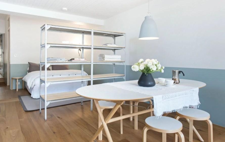 scandinavian apartment sydney airbnb living bedroom