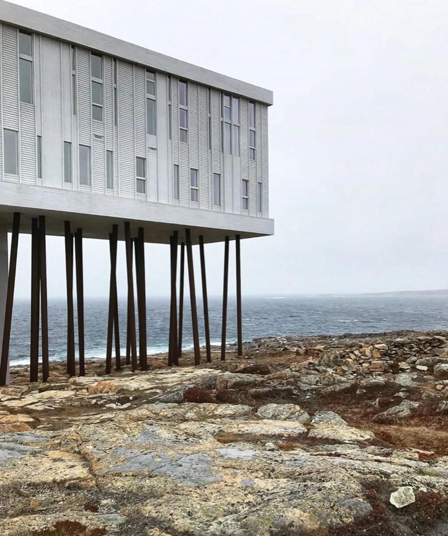 scandinavian feeling outdoor architecture