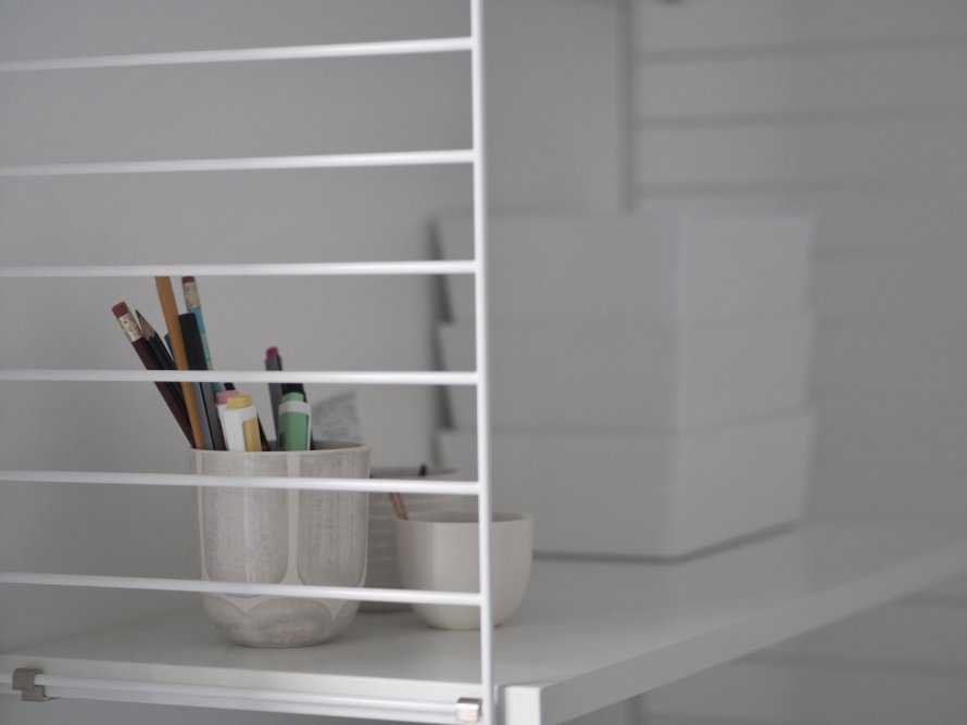 productivity calm work space tips storage