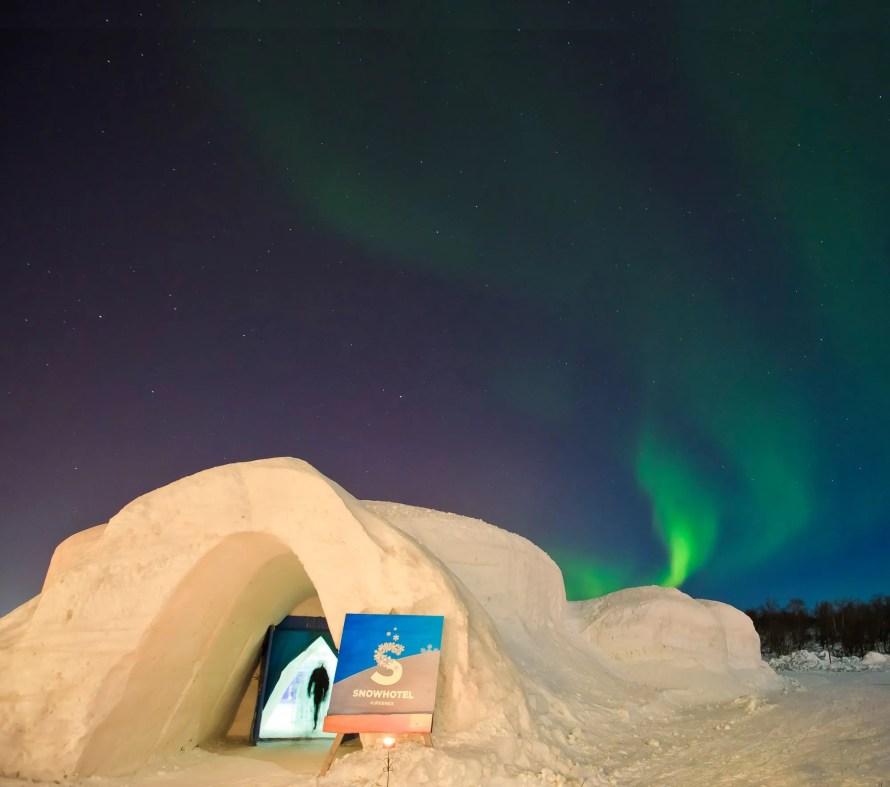 amazing norway travel snow hotel igloo