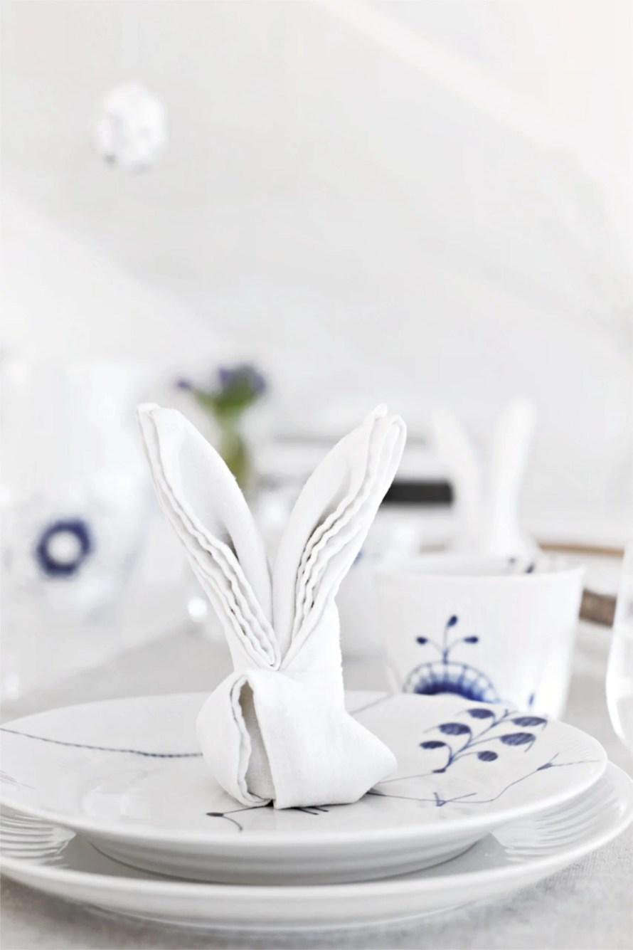 Easter DIY inspiration bunny napkin scaled