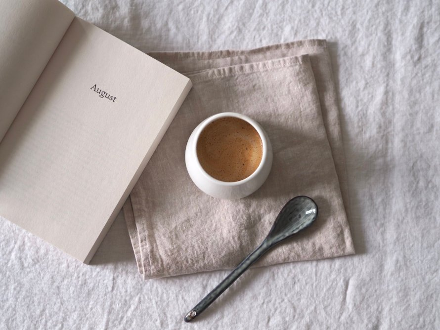 august book cozy coffee scandinavian hygge lifestyle