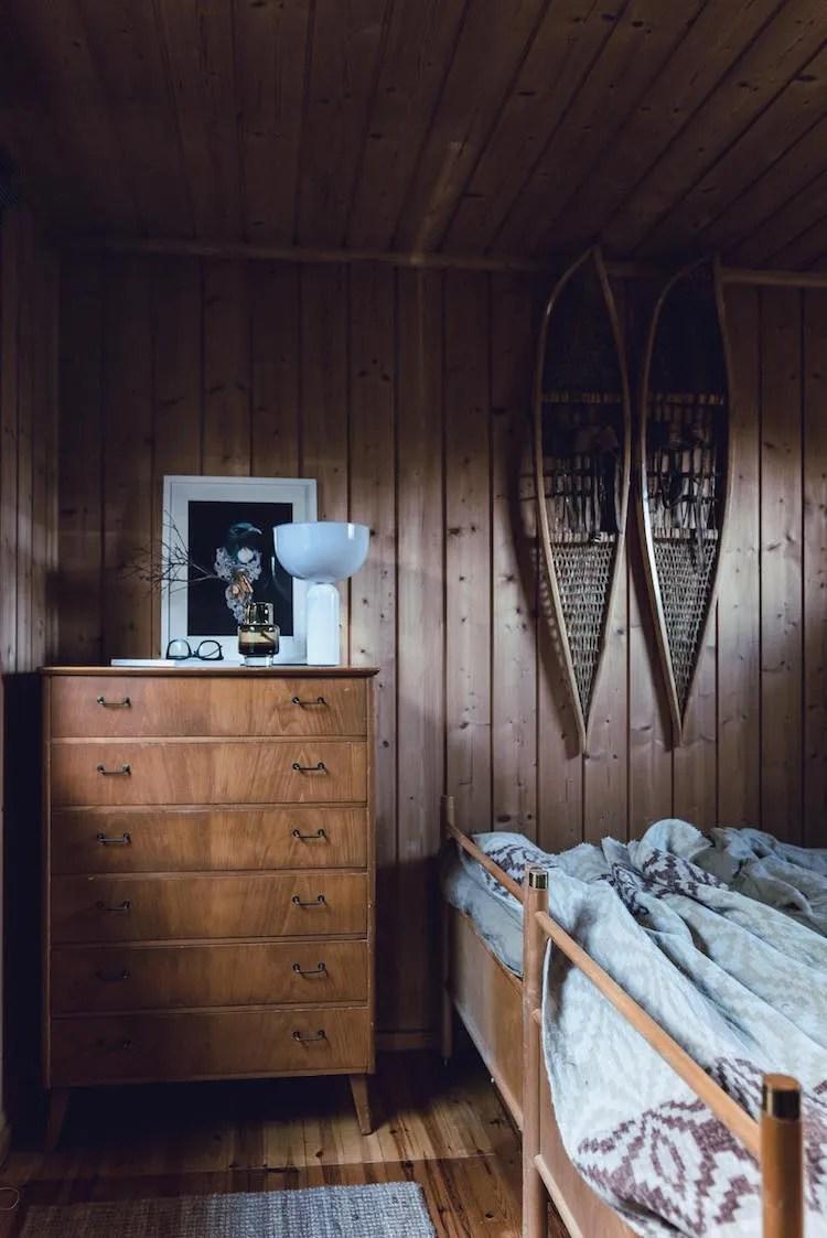 scandinavian feeling bedroom cozy hygge cabin 1