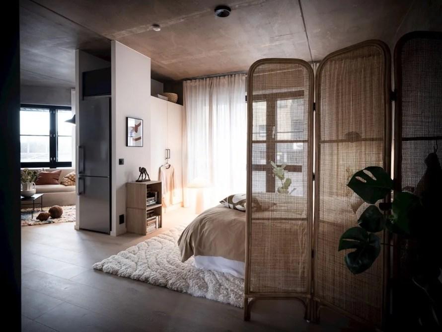 scandinavian feeling cozy bedroom dark 2