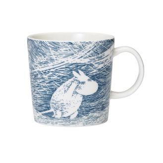 Moomin winter seasonal mug 2020 'Snow Blizzard'