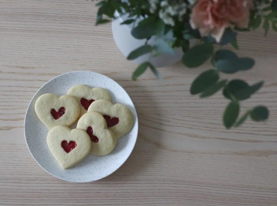 scandinavian feeling valentines love hearts
