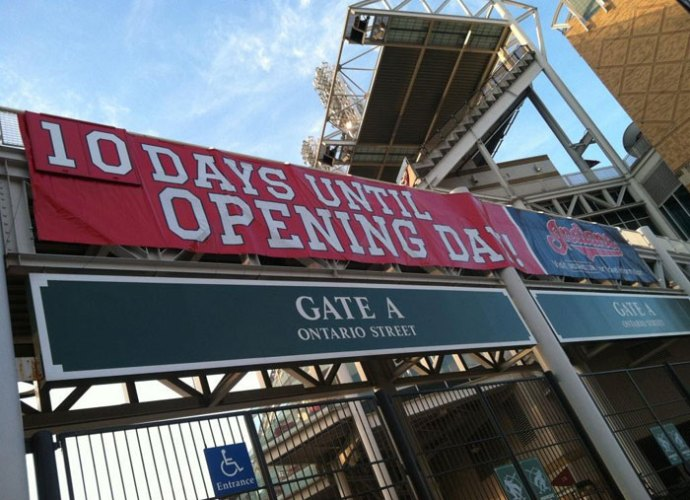 10 Days Until Opening Day In Cleveland