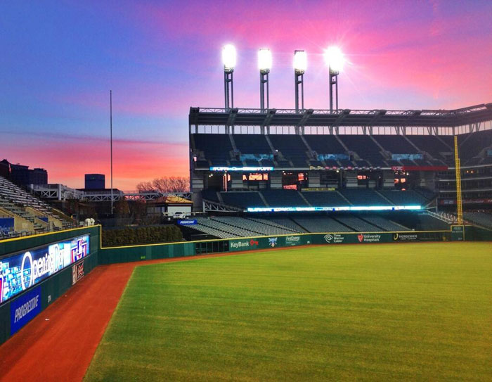 2013 Indians Home Opener Sunrise