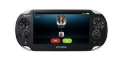 Playstation Vita Skype Call
