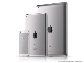 Apple iPad 3 iPad Mini iPhone 5
