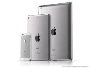Apple iPad 3 iPad Mini iPhone 5
