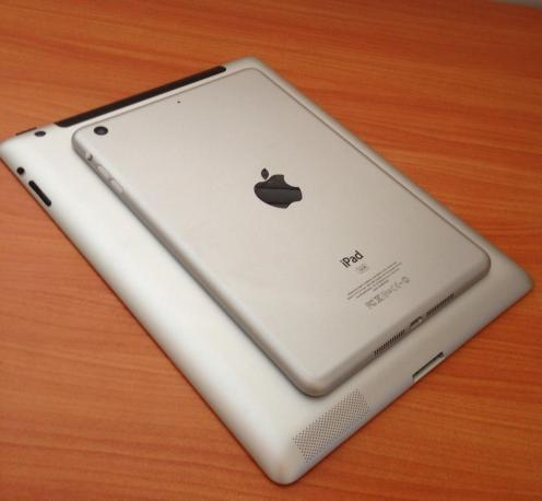 Apple iPad Mini on iPad 3