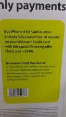 Straight Talk iPhone 4 Financing