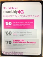 T-Mobile Monthly 4G Prepaid Plan