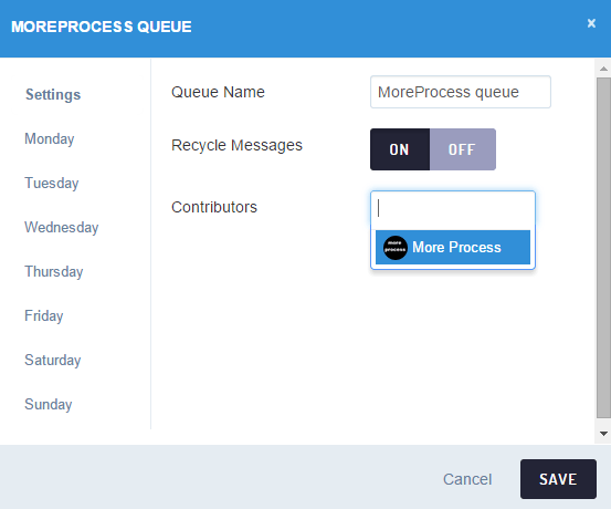 Add and manage queues in Sendible