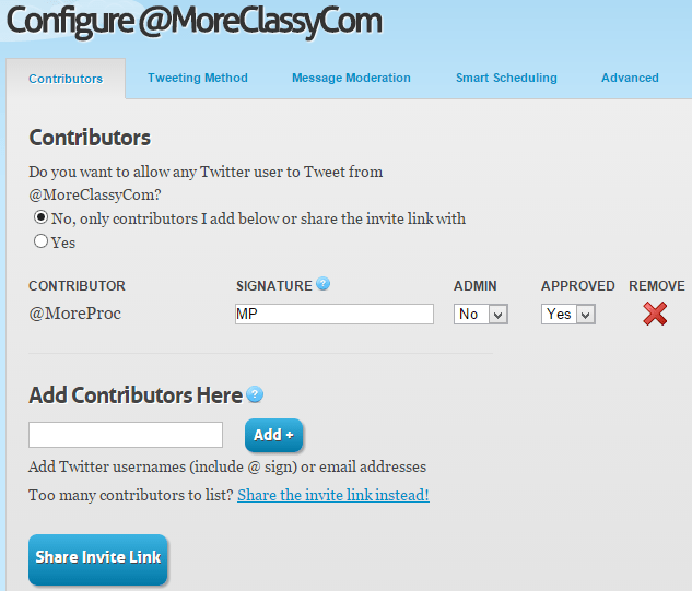 Add signature for your contributors in GroupTweet