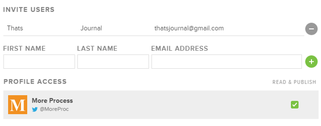 Add team members in Sprout Social
