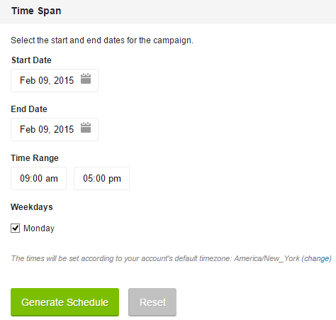 Automatically schedule posts in social networks in Oktopost