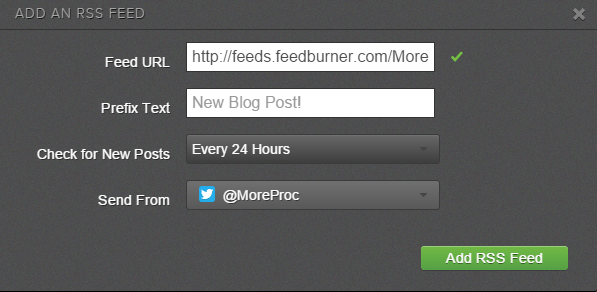 Post messages automatically from RSS feeds in Sprout Social